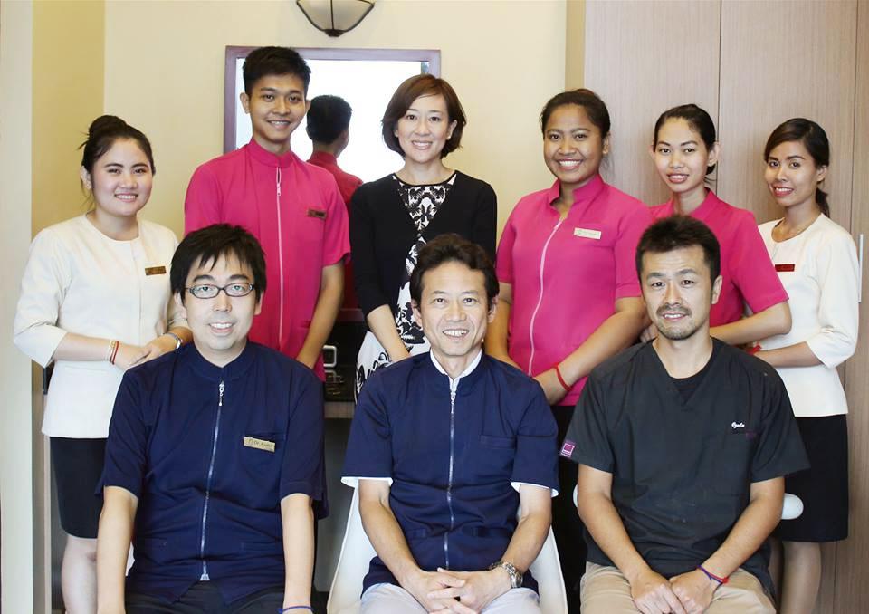 カンボジアで働く歯科医師
