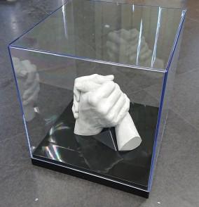 石膏手形 サンプル